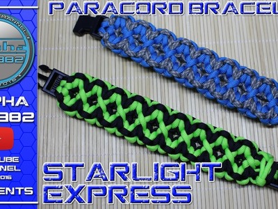 How to make a Paracord Bracelet Starlight Express