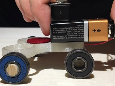 How to Make a Powered Fidget Spinner Car