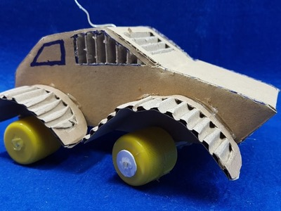 How to Make a RC Car with Cardboard