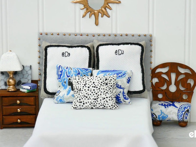 How to Make a Tiny Padded Headboard for a Bed