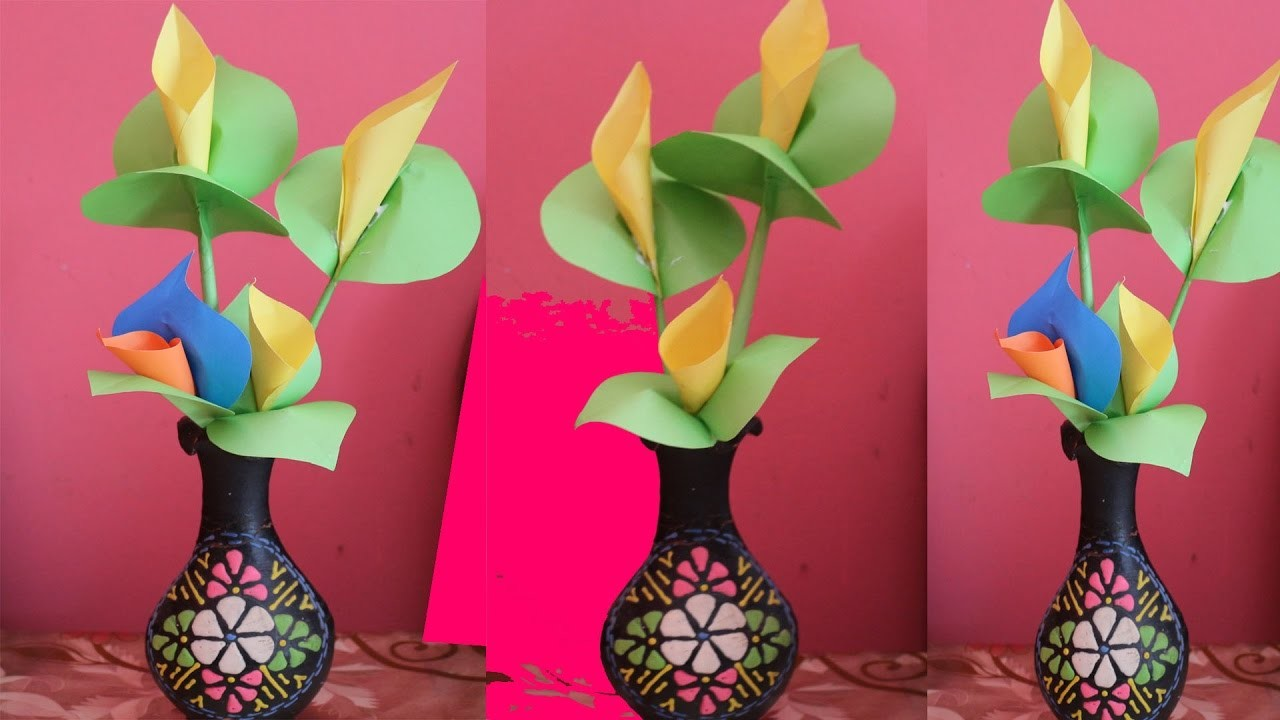 Origami Flowers Calla Lily Flowers Healthy