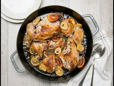 How To Make Chicken with Herbs, Citrus & Capers