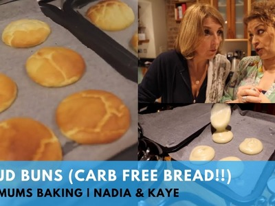 How To Make Cloud Buns (Super Easy Carb Free Bread Recipe Included!)