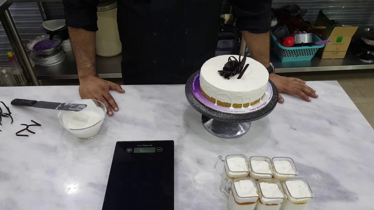 How to make cream cheese cake.