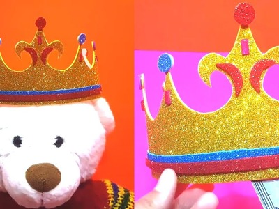 How to Make Crown l Kids Learning Videos l Nursery Learning l Poem l Rhymes l Art and Craft