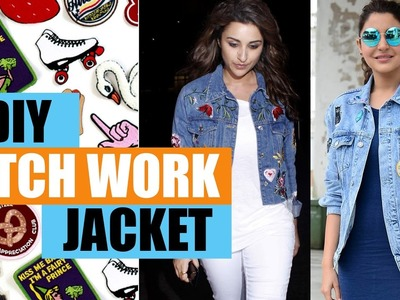 How to make DIY Patch Jacket at home | Fashion Tips | Pinkvilla