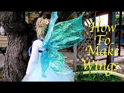 How To Make Fairy Wings!!! Super Easy!!!