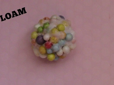 How to Make Floam Slime. Crunchy Slime Without Borax