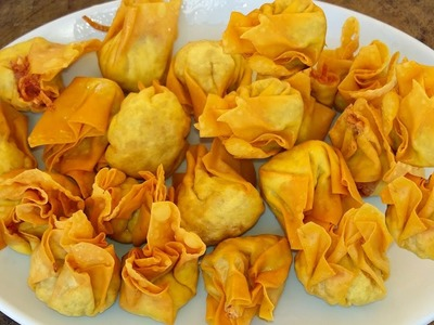How To Make Fried Dumplings - Cambodian Foods In My Village #7