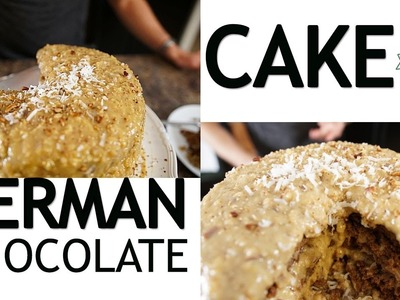 How to Make Gluten Free German Chocolate Cake