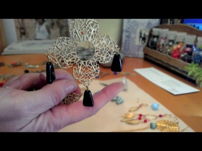 How to Make Jewellery Using Brass Filigree Stampings