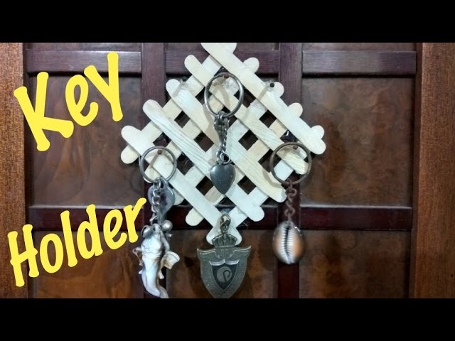 How To Make Key Holder At Home