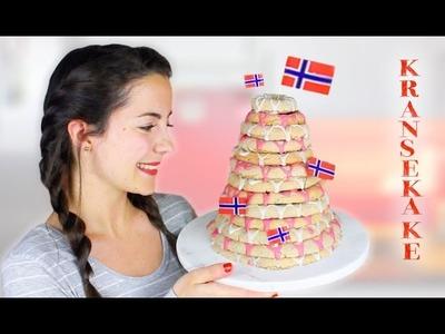 How to make KRANSEKAKE   Norwegian recipe