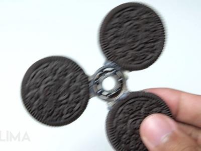 How To Make Oreo Fidget Spinner - Amazing Spinner Toys For Kids