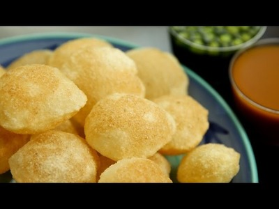 How To Make Puri For Pani Puri | Golgappa Puri Recipe | Perfectly Crisp Puri Recipe By Ruchi Bharani
