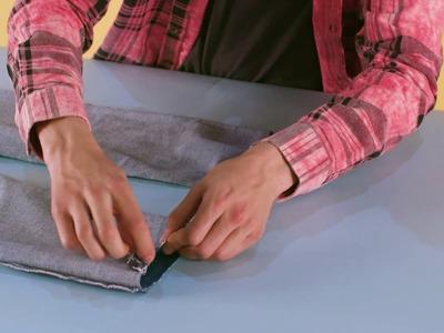 How to make raw-hem.cut-off jeans   ASOS Menswear tutorial