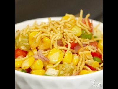 How to Make Spicy Corn Chaat At Home
