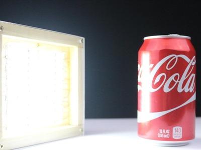 How to Make Super Bright LED Light Box-DIY