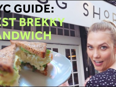 How to Make the Best Breakfast Sandwich in NYC | Karlie Kloss
