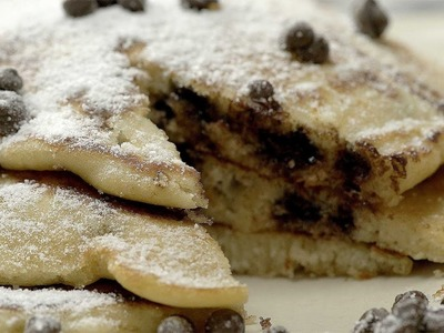 How to Make the Best Chocolate Chip Pancakes