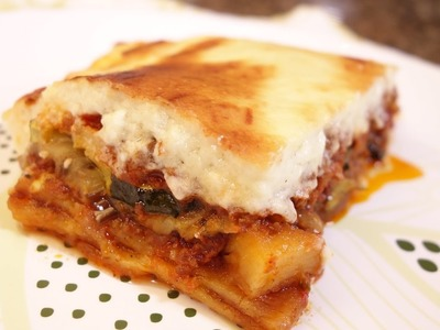 How to make the best Moussaka - by request