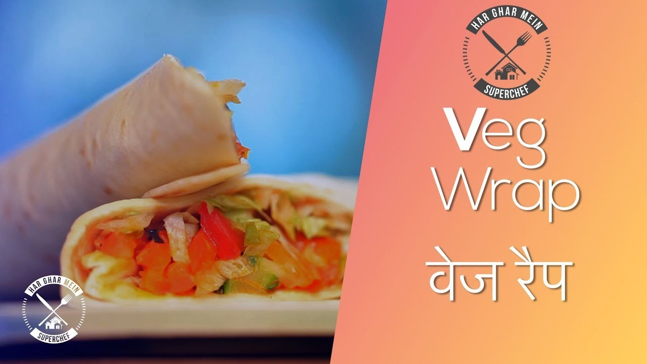 How To Make The Indian Burrito Wrap || Chef Pranav Joshi || Fusion Food