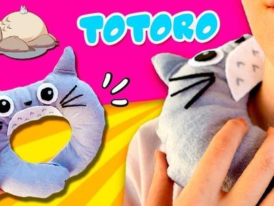 How to Make TOTORO NECK Pillow! * ¡Cómo hacer un COJÍN Cervical de TOTORO!  ✅  Top Tips & Tricks