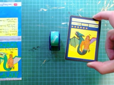 How to make Trading Card Packs by Hand