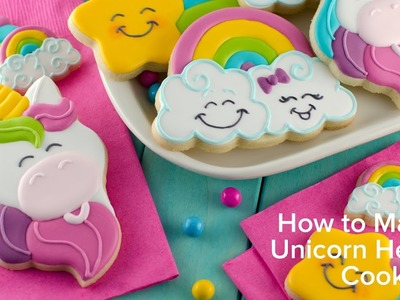 How to Make Unicorn Head Cookies