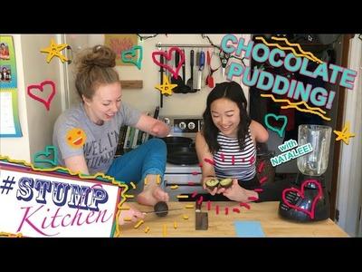 How to make vegan gluten free Chocolate Pudding! Stump Kitchen 42