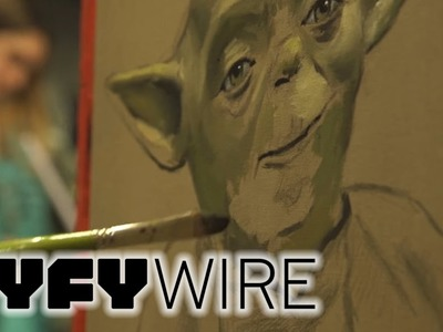 How to Paint Yoda from Star Wars | SYFY WIRE