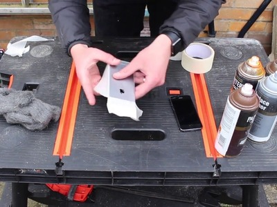 How to Spray Paint A - iPhone