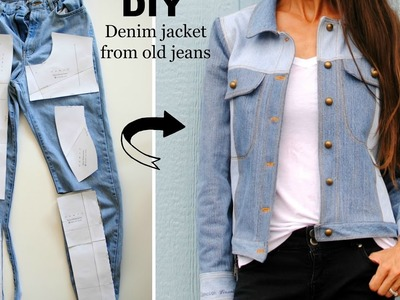 How to: Upcycled denim jacket from old jeans
