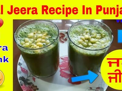 Jal Jeera Recipe In Punjabi Jaljeera Drink How To Make Jal Jeera by JaanMahal video ਜਲ ਜੀਰਾ