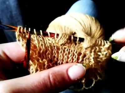 Knitting nupp my way