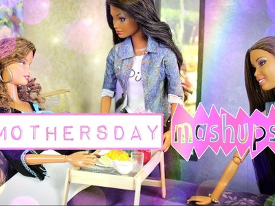Mothers Day Mash Ups - How to Make | Doll Flowers, Flower Pot, Garden, Breakfast Tray