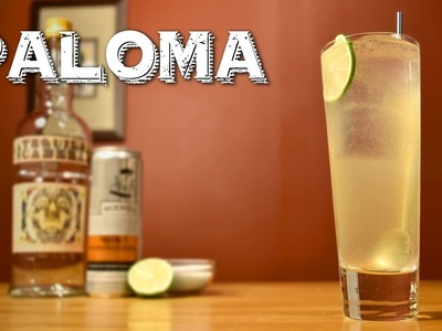 Paloma - How to Make the Mexican Highball with Tequila & Grapefruit Soda