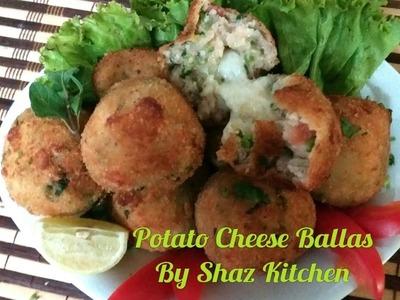 Potato Cheese Balls_Ramadan Special Recipe(In Urdu.Hindi)How To Make Cheese Loaded Mash Potato Balls