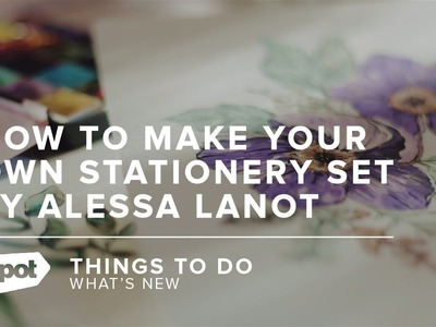 Pro tips for how to make your own stationery set