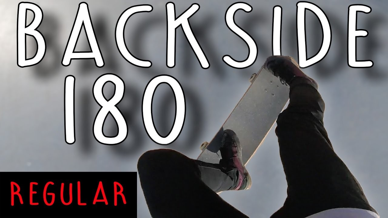 REGULAR! POV Skate Tutorial #4: How to BACKSIDE 180