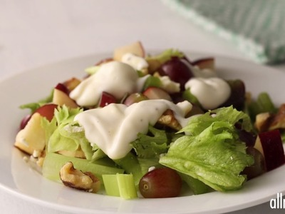Salad Recipes - How to Make Layered Waldorf Salad