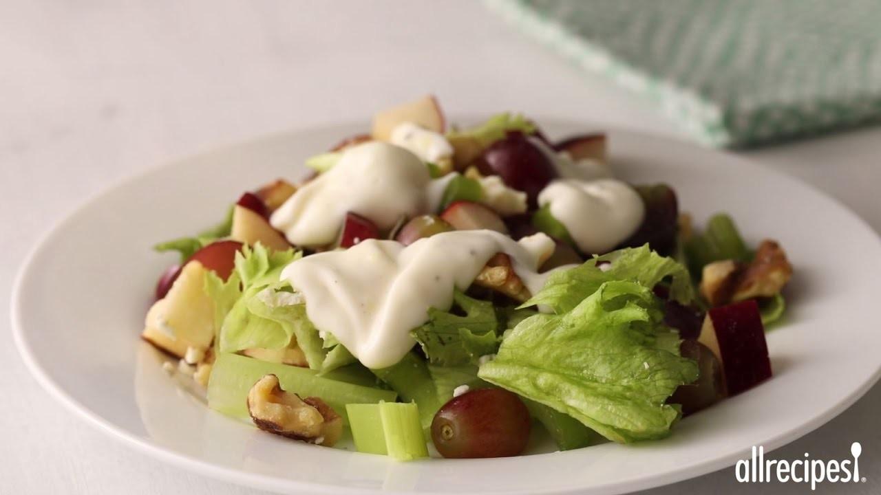 Salad Recipes - How to Make Layered Waldorf Salad