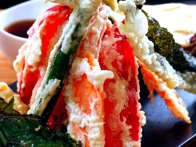 Tempura Recipe | How to make Vegetable Tempura | Tempura Vegetables