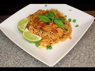 Tomato Lime Shrimp Pasta (Saturday Meal) (Legacy) How - To - Make????