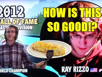 WORLD CHAMP SHOWS HOW TO MAKE INSANE OMELETTE!!! - Throwdown with 'Bobby Ray'