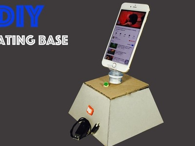 WOW! DIY Rotating Base - How to make a Table Rotating Base for Cell Phone at home easy
