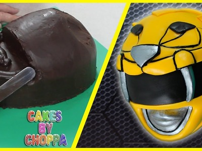 Yellow Power Ranger Cake (How To) || Feat. Jayden Rodrigues