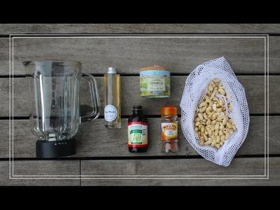 Zero Waste Lifestyle: How to make Cashew Milk!