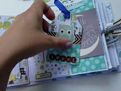 Baby Boy Mini Album Flipbook