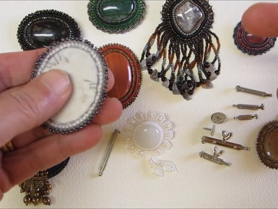 Bead Embroidery   Creating a Pin by Jamie Cloud Eakin